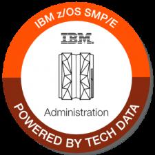 IBM zOS SMP E badge