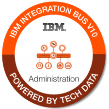 IBM Integration Bus V10 Admin badge