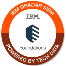 IBM QRadar SIEM Foundations badge