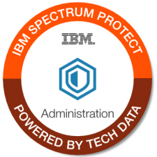 IBM Spectrum Protect Admin badge