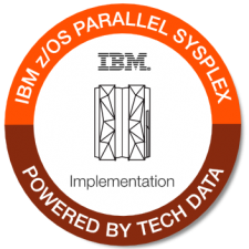 IBM zOS Parallel Sysplex Implementation badge