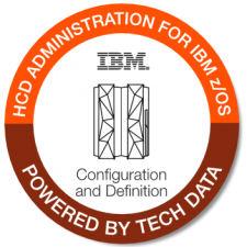 IBM zOS HCD Admin badge