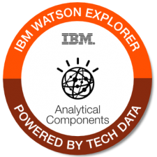 IBM Watson Explorer Analytical Components badge