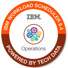IBM Workload Sched Ops 9.4 badge