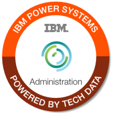 IBM Power Systems Admin badge