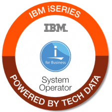 IBM iSeries System Operator badge