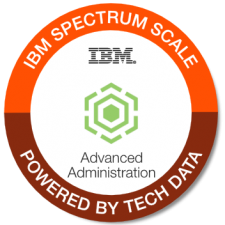 IBM Spectrum Scale Admin Adv badge
