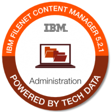 IBM Filenet Content Mgr 5.2.1 Admin badge