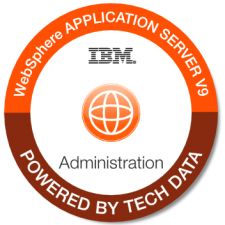IBM WAS V9 Admin badge