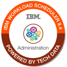IBM Workload Sched Admin 9.4 badge