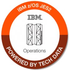 IBM zOS JES2 Operations badge