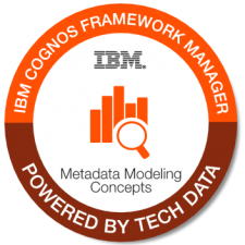 IBM Cognos Framework Mgr badge