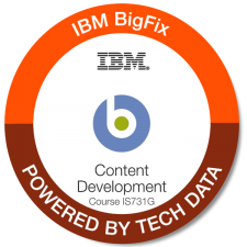 BigFix+Content+Development+ +IS731G