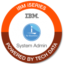 IBM iSeries System Admin badge