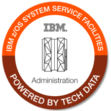 IBM zOS System Service Facilities badge