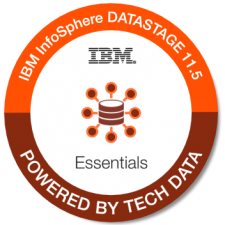 IBM InfoSphere Datastage Essentials 11.5 badge