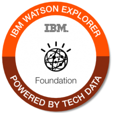 IBM Watson Explorer Foundation badge