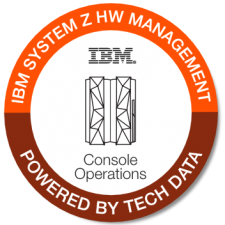 IBM zOS HW Mgmt Console Ops badge