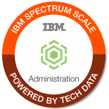 IBM Spectrum Scale Admin badge