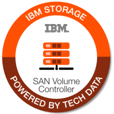 IBM SAN Volume Controller badge