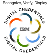 ibm digital badges logo