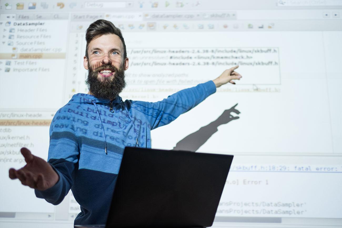 Award-winning certified IT instructor