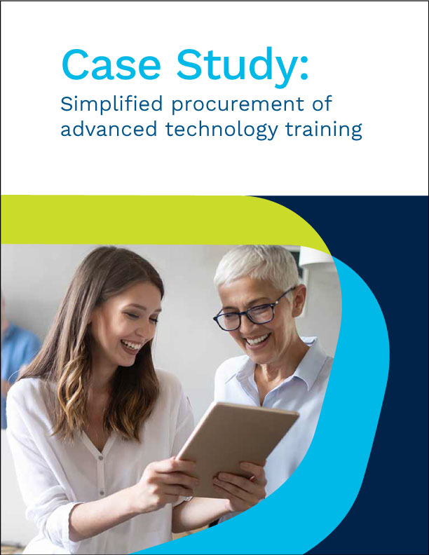 Case Study: Simplified Procurement of Advanced Technology Training