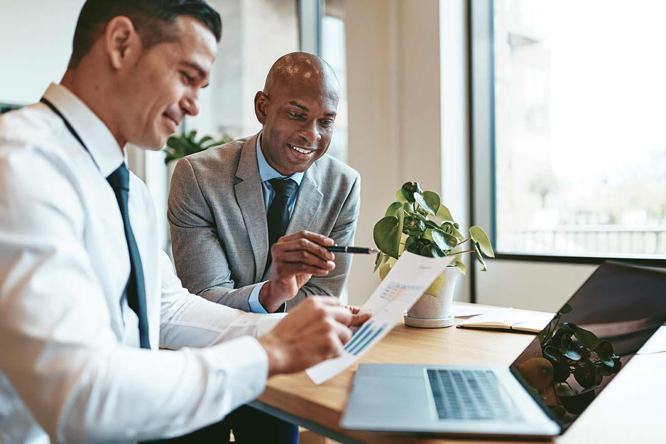IT professionals reviewing ExitCertified Flex Account details
